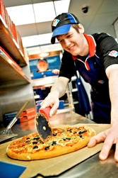 Dominos Pizza franchise business pizza delivery brand opportunity career make money